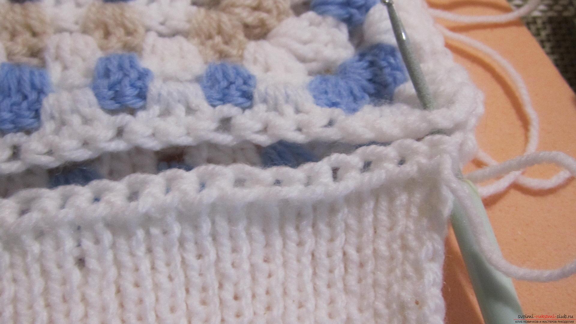 Вязание резинки бабушкиным способом 22