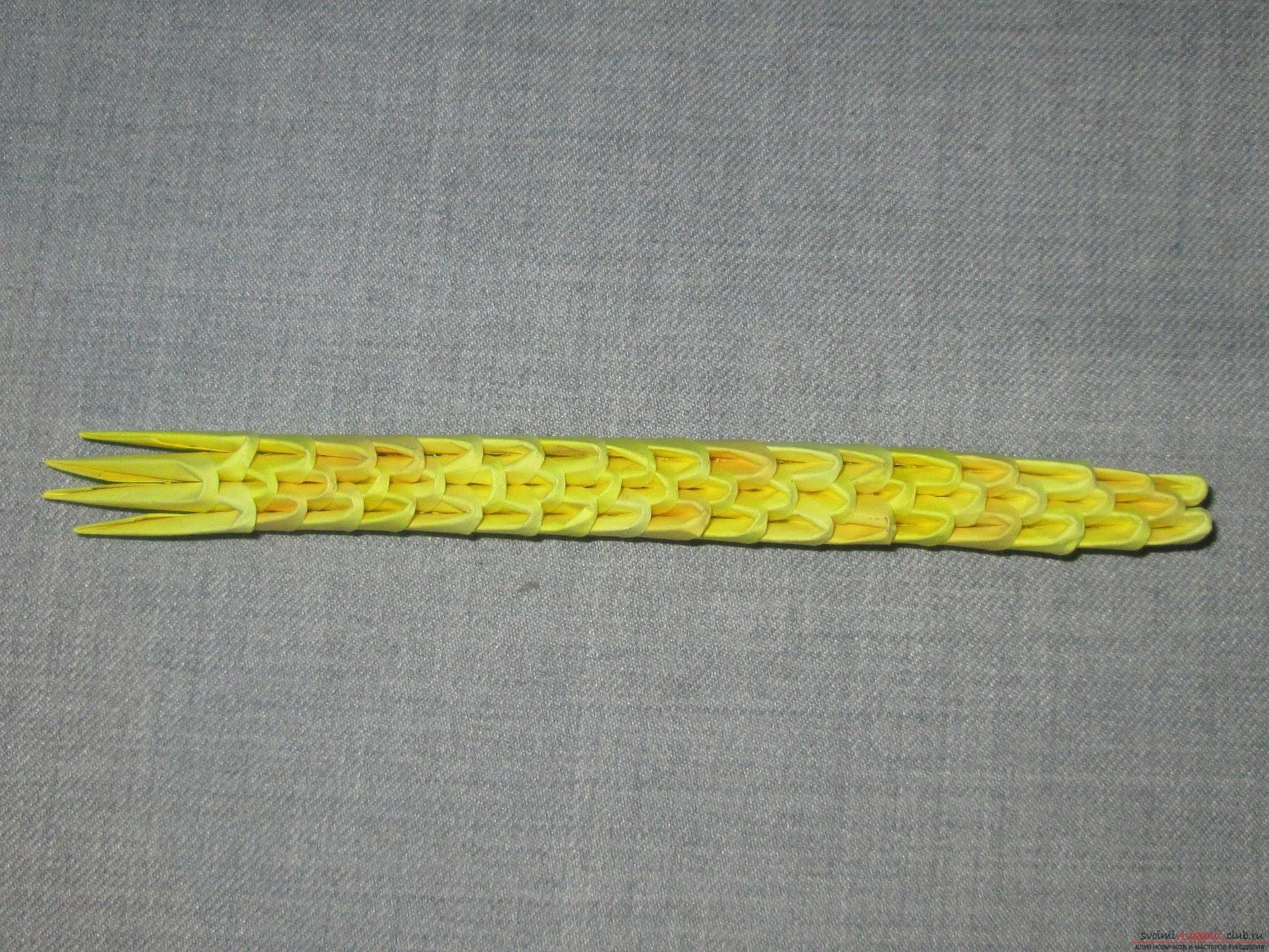 Мастер-класс с описанием и фото оригами своими руками – модульная обезьяна.. Фото №27
