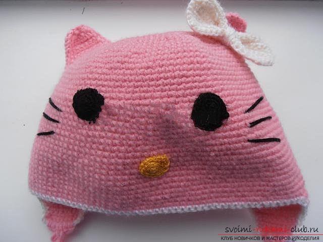 Вяжем шапочку для ребенка.. Фото №24