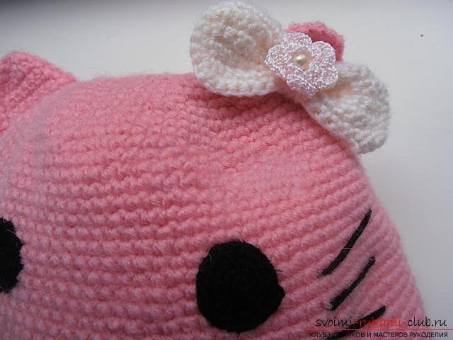 Вяжем шапочку для ребенка.. Фото №26