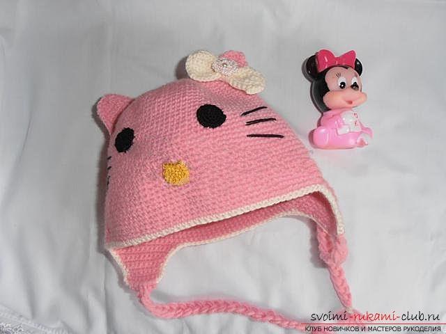 Вяжем шапочку для ребенка.. Фото №28
