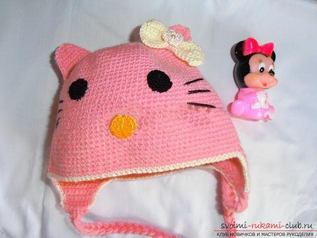 Вяжем шапочку для ребенка.. Фото №27