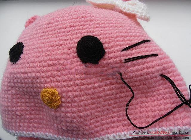 Вяжем шапочку для ребенка.. Фото №23