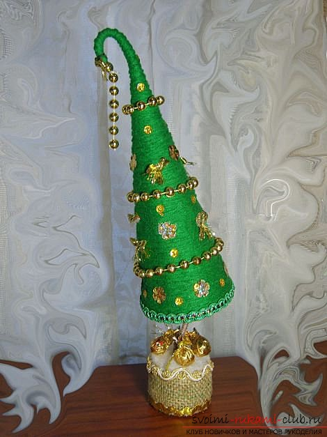 Топиарий елка своими руками пошаговое фото