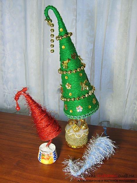 Новогодняя игрушка на ёлку своими руками из