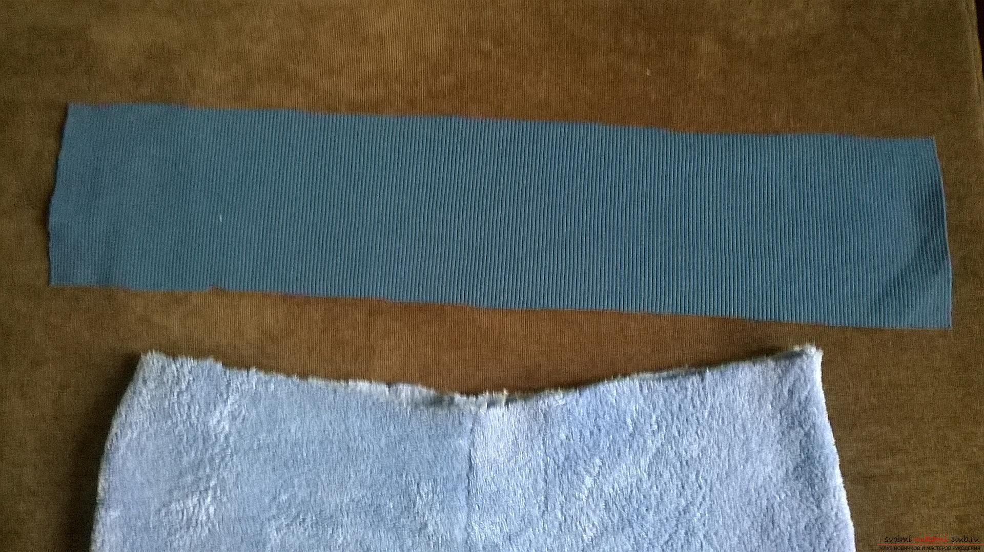 Эта статья рассказывает как сшить теплые и удобные штаны для мальчика на резинке. Фото №10