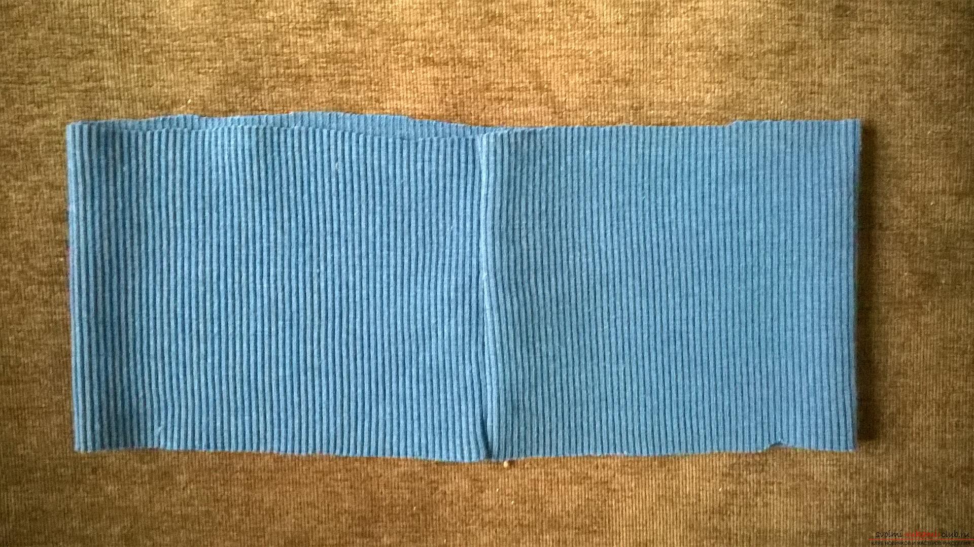 Эта статья рассказывает как сшить теплые и удобные штаны для мальчика на резинке. Фото №12