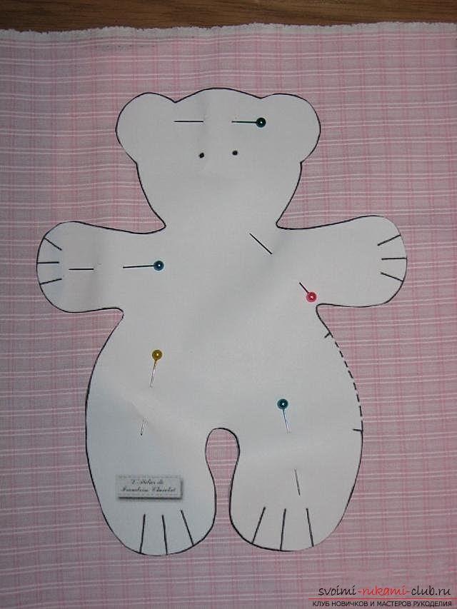 Гирлянда медвежата своими руками
