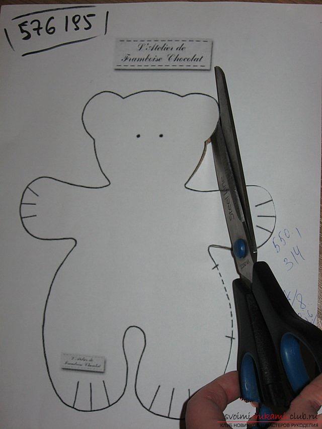 Мишка Тильда шаг за шагом. Фото №3