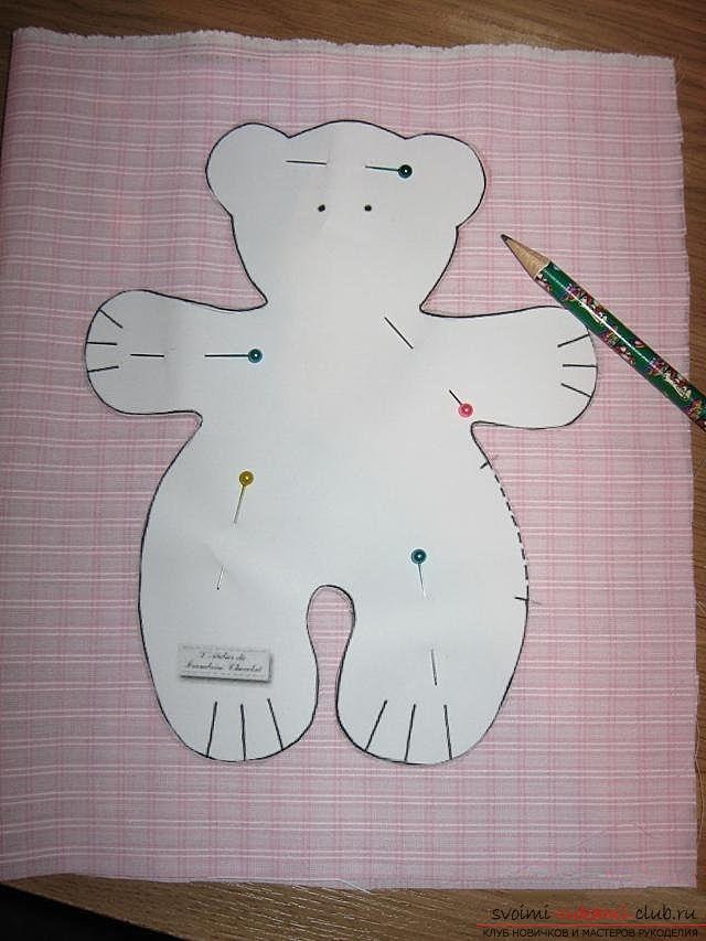 Сшить медвежонка тильда своими руками