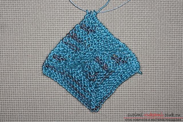 Вяжем свитер спицами. Фото №20