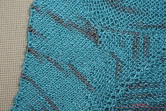 Вяжем свитер спицами. Фото №34
