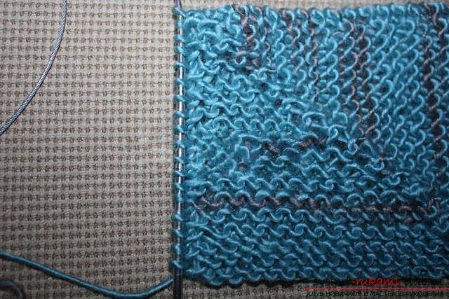 Вяжем свитер спицами. Фото №22
