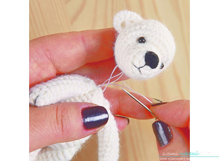 Мастер-класс по вязанию медвежонка крючком