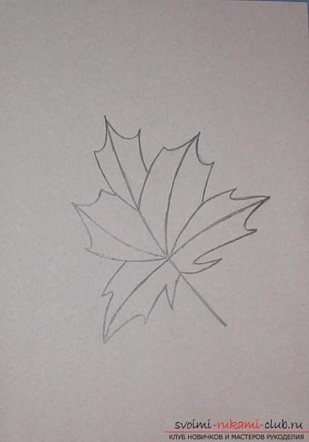 Вышиваем осенний лист в технике «изонить». Фото №8