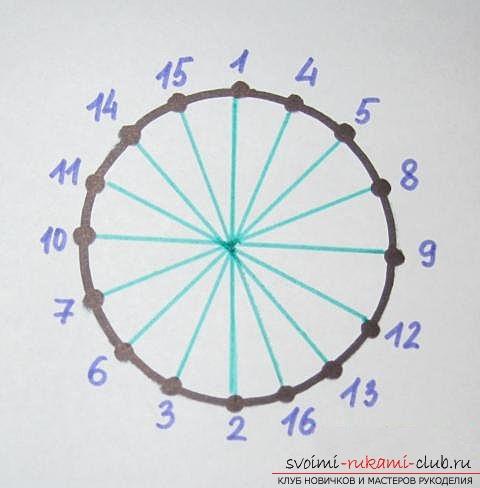 Вышиваем осенний лист в технике «изонить». Фото №4