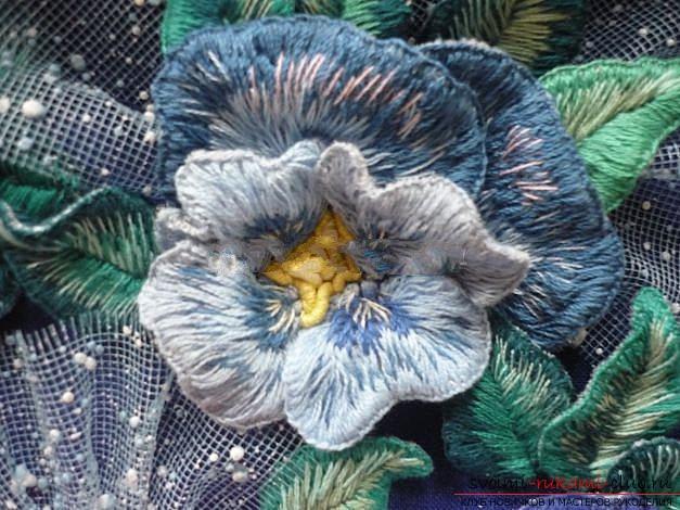 Вышиваем розу.. Фото №27