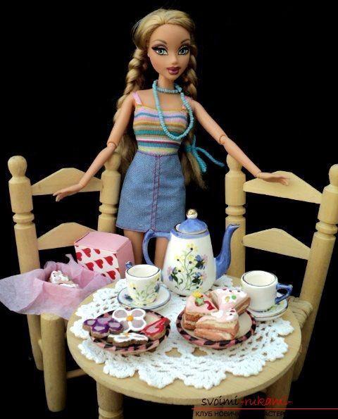 Мелочи для куклы мастер класс