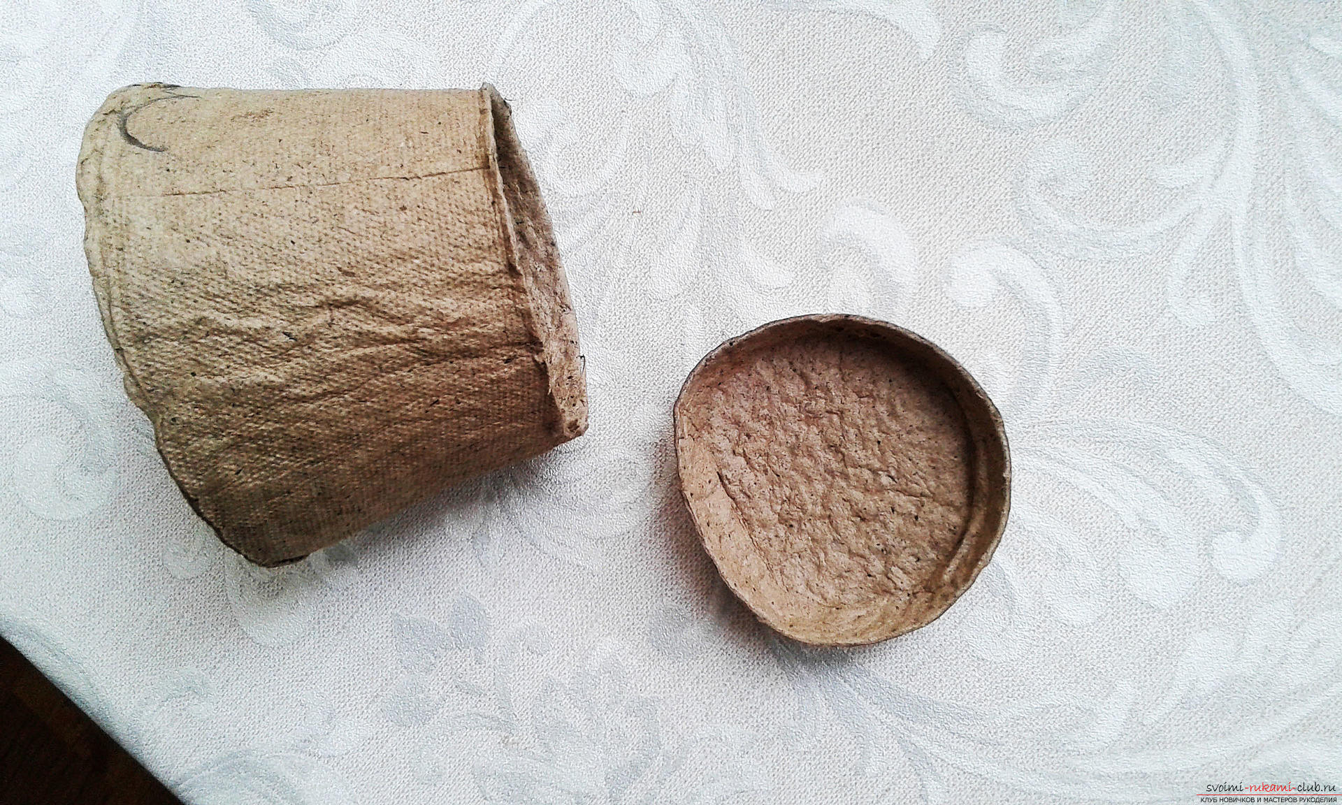 Как изготовить торфяные горшочки