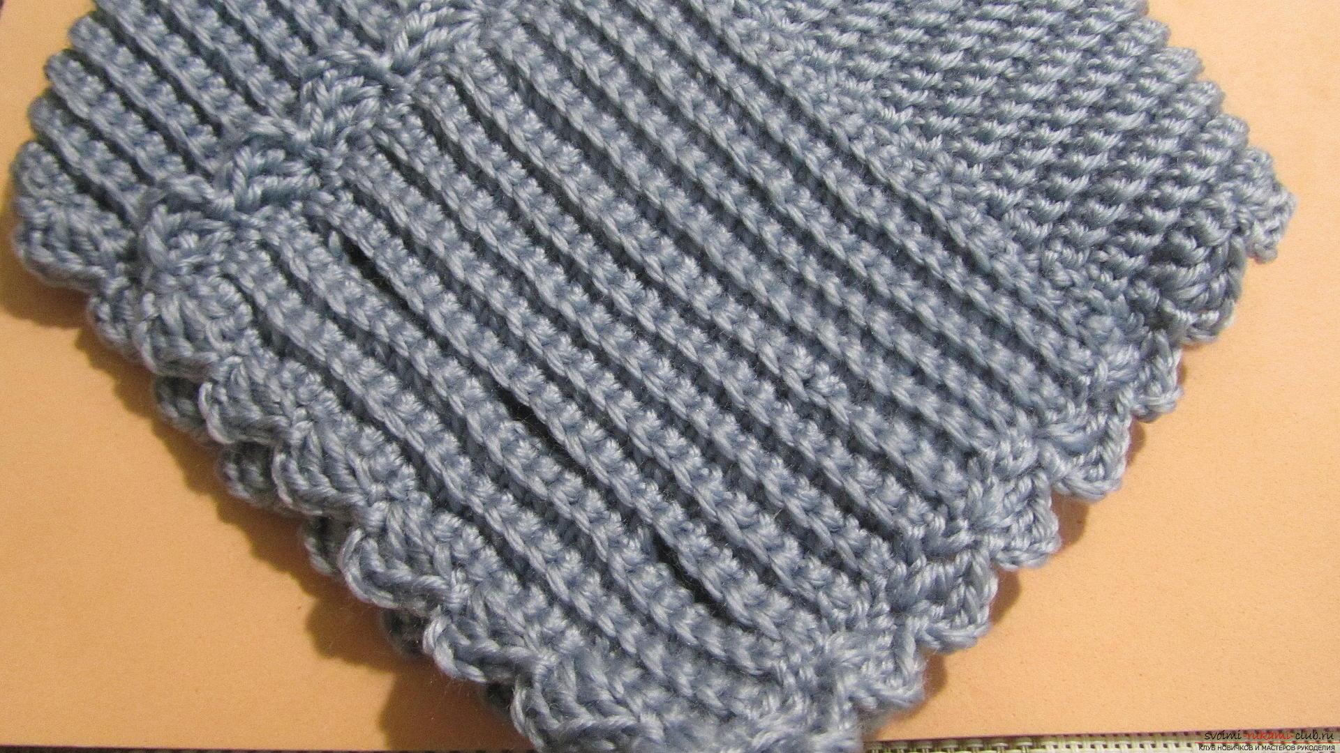 Спицы вязание шарф воротник спицами 501