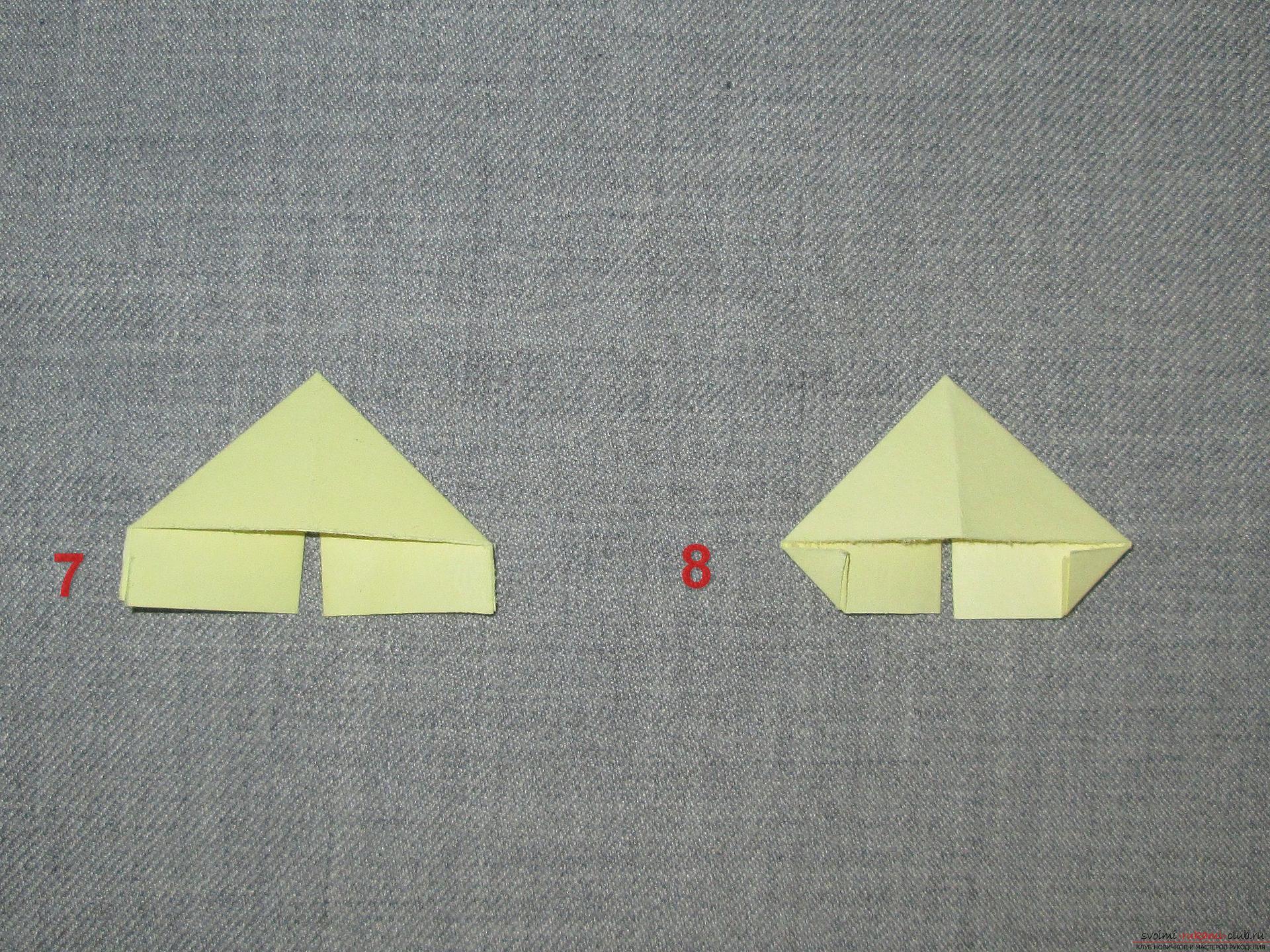 Схемы одного модуля оригами