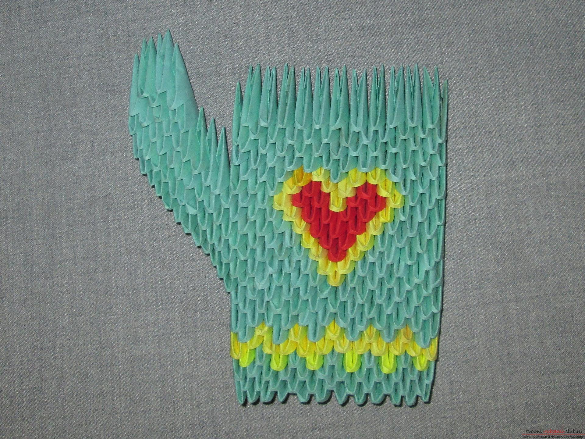Из модулей оригами пошаговая инструкция фото