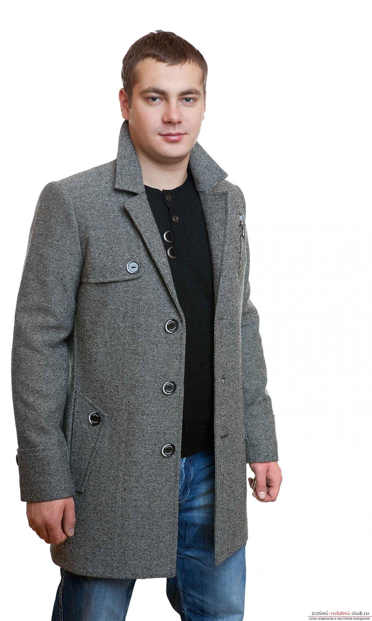 схема-построение пальто с капюшоном