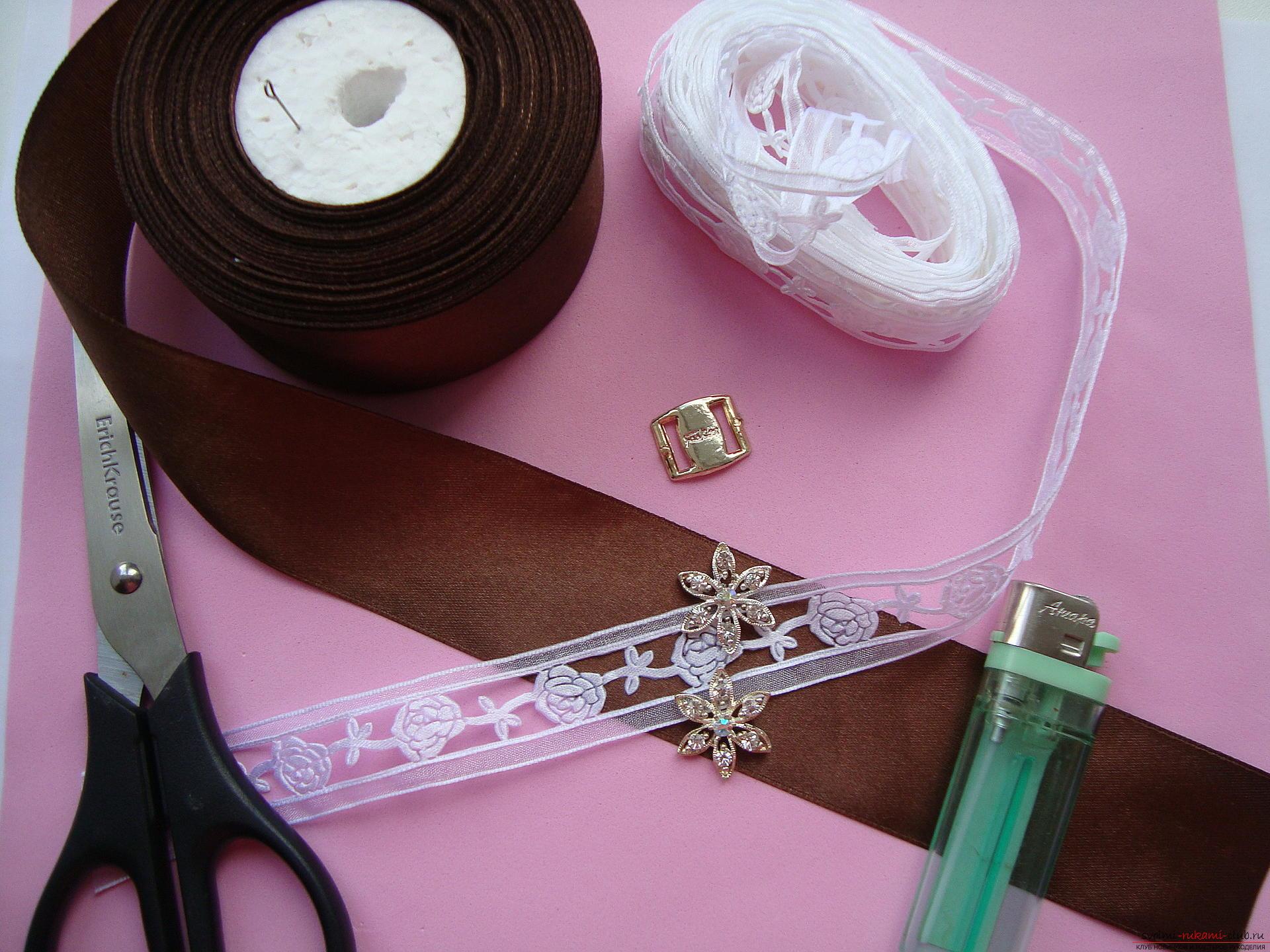пошаговая инструкция галстука из бисера своими руками