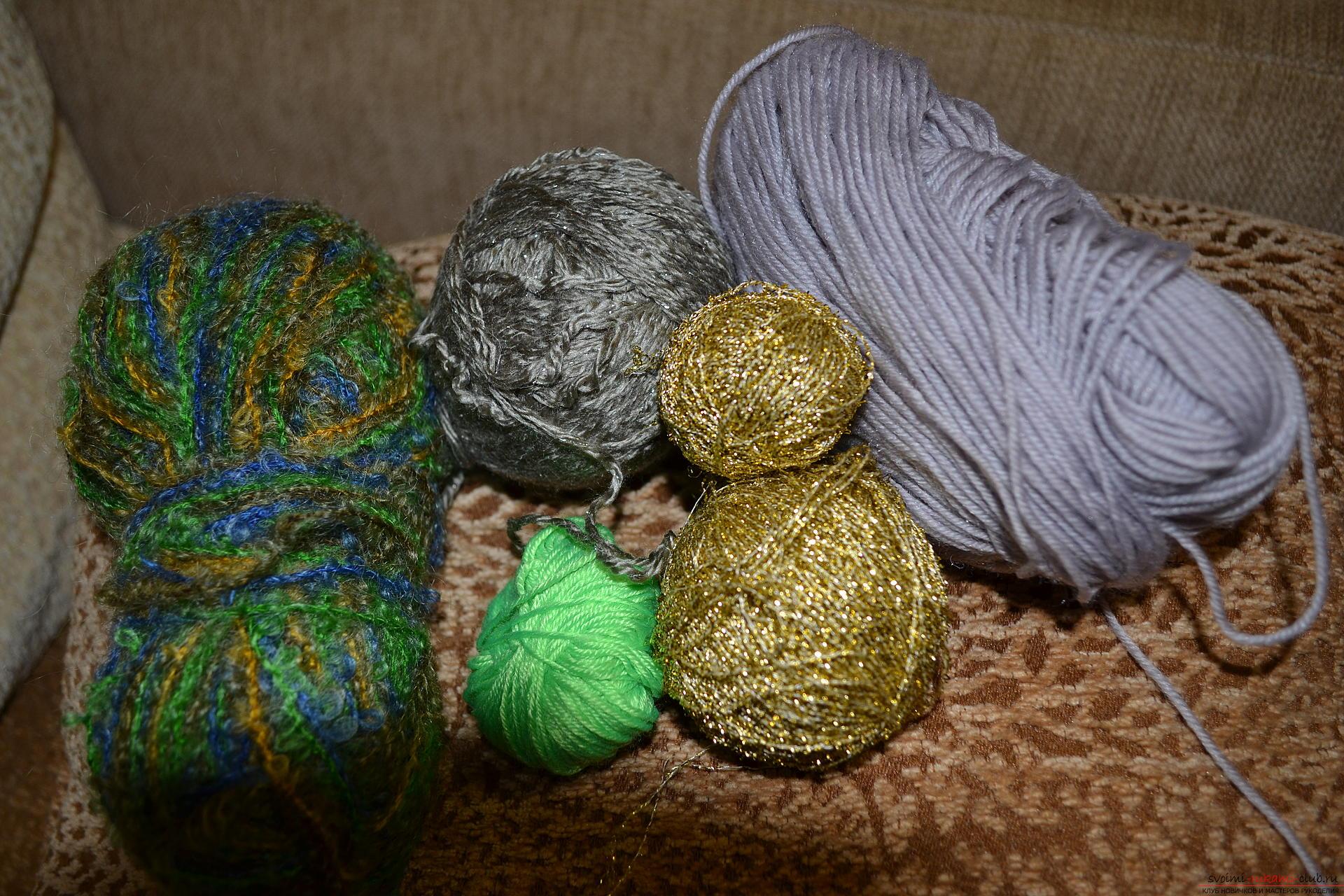 Как сшивать вязаные детали Способ первый: сшиваем крючком 36