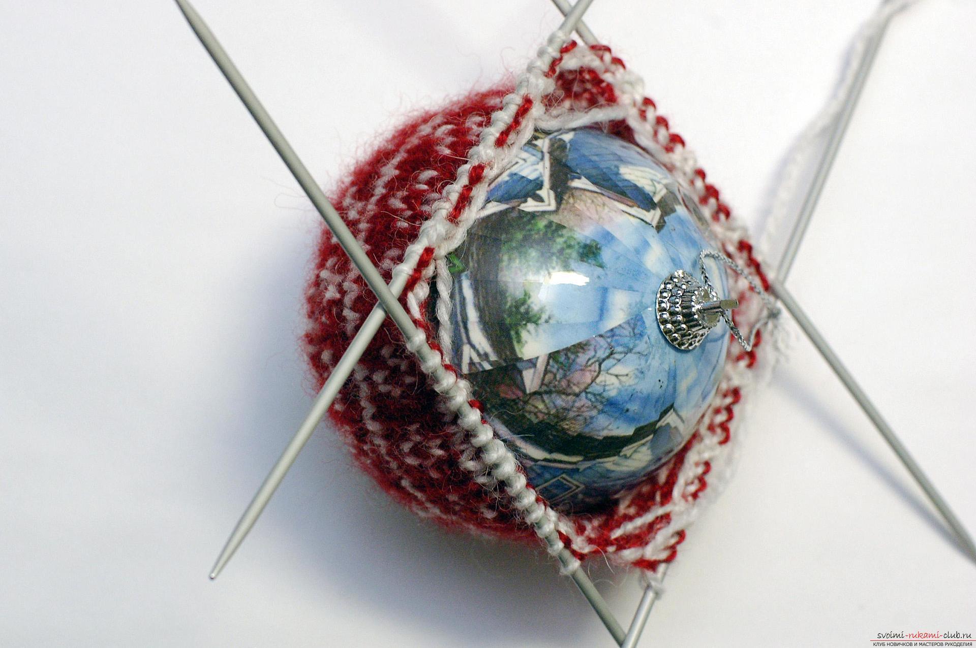 Новогодние поделки своими руками вяжем