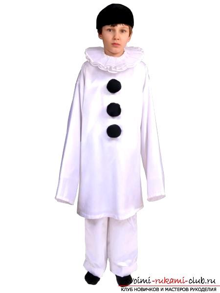Идея новогоднего костюма для мальчика своими руками