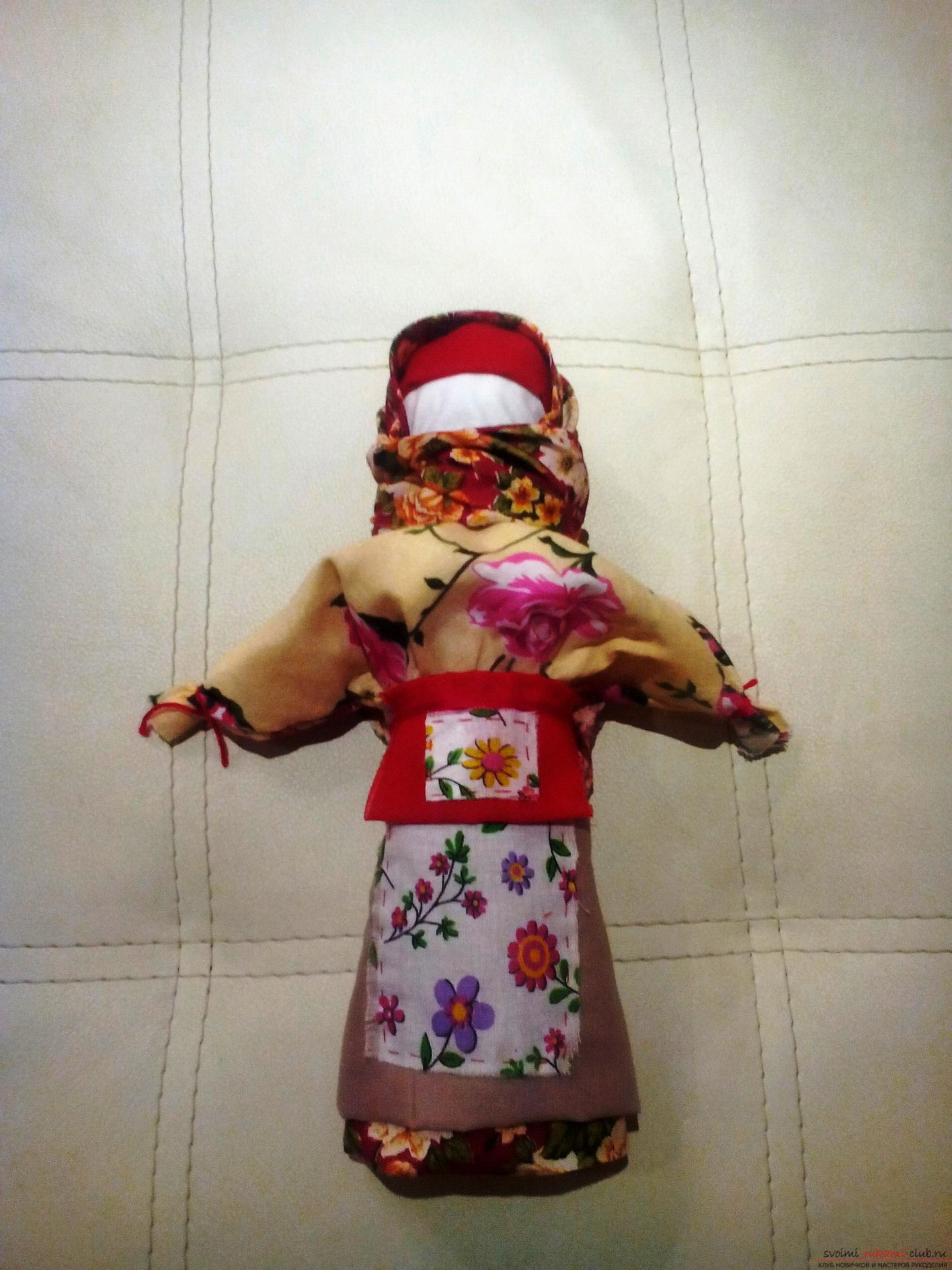 Куклы обереги своими руками с мастер классом