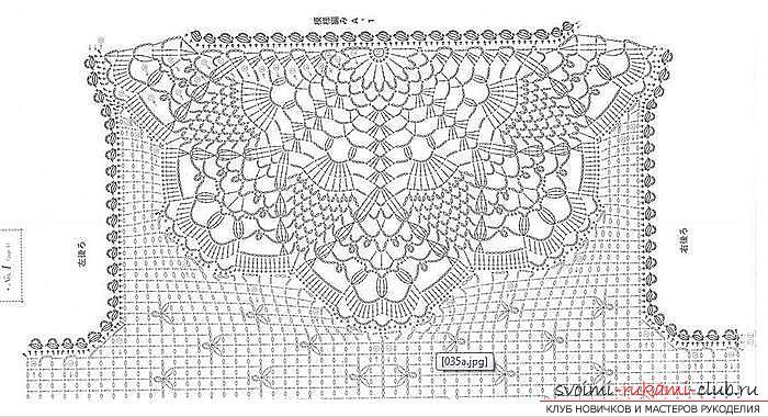 Осинка схемы вязания 43