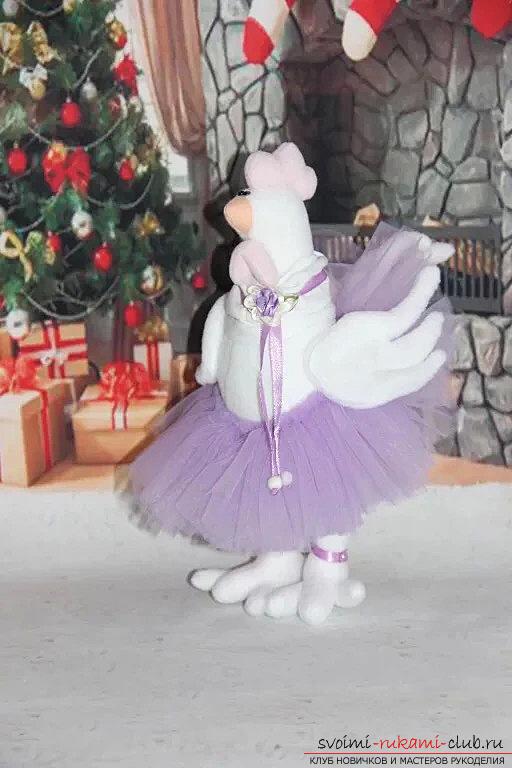 Новый год 2017, грушки на новый год, курица