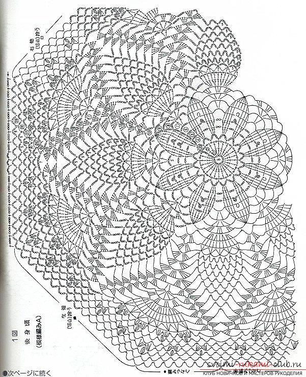 Зонт крючок вязание схема 186