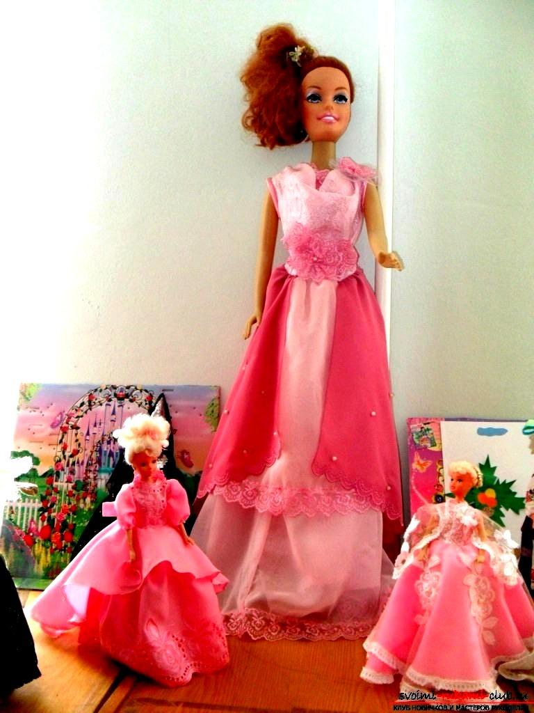 Как пошить одежду для кукол своими руками. Фото №1