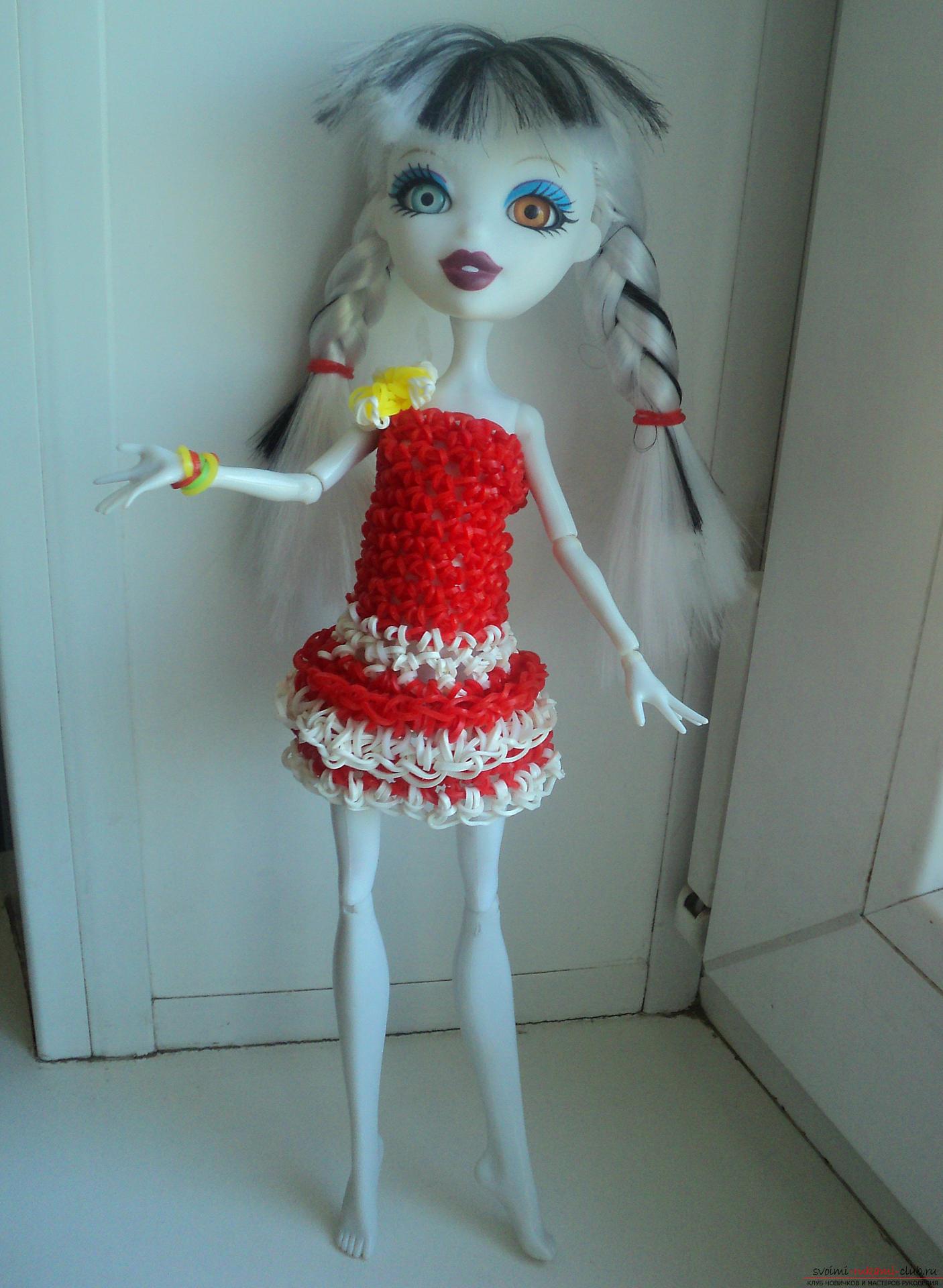 Как сделать куклу из резинок своими руками