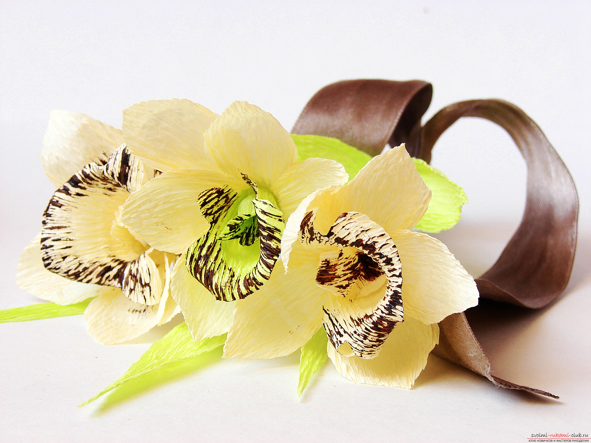 Топиарий из орхидей 90