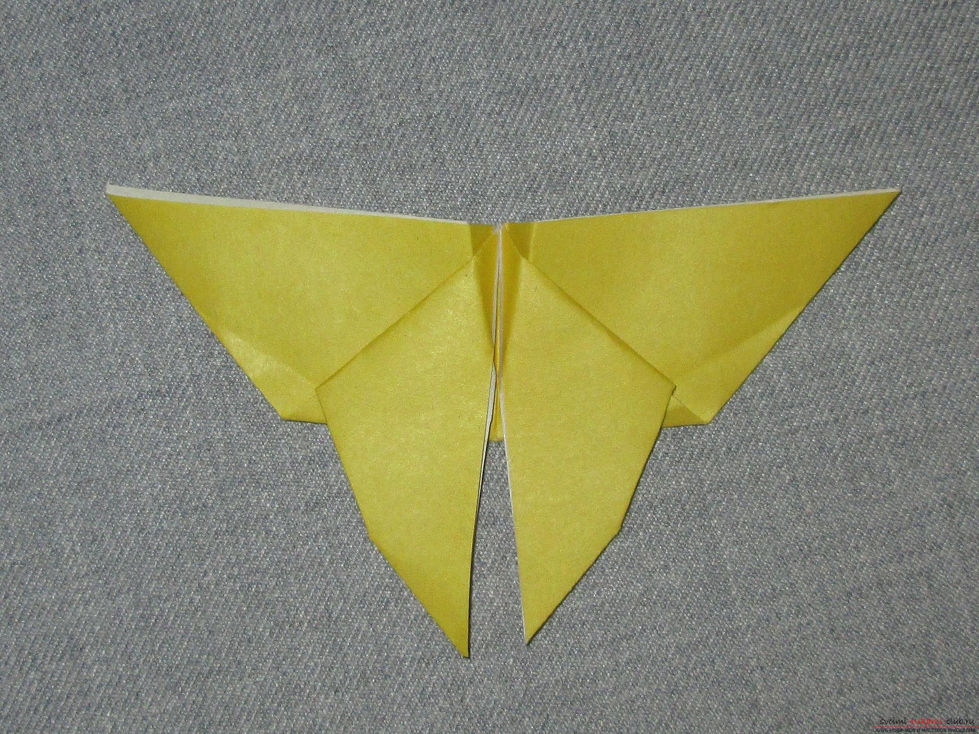 Рассмотрим несколько способов, как сделать бабочку из бумаги 35