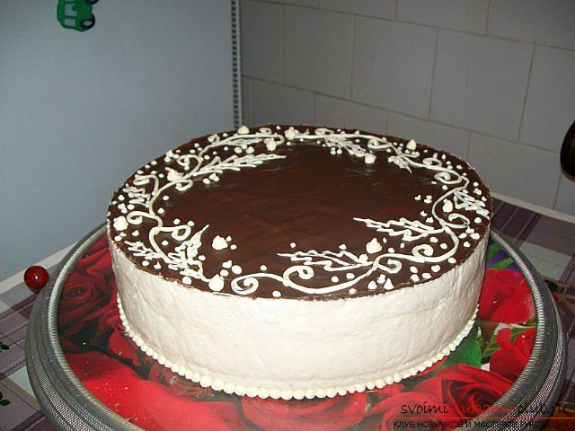 Торт птичье молоко рецепт пошагово в домашних условиях без желатина