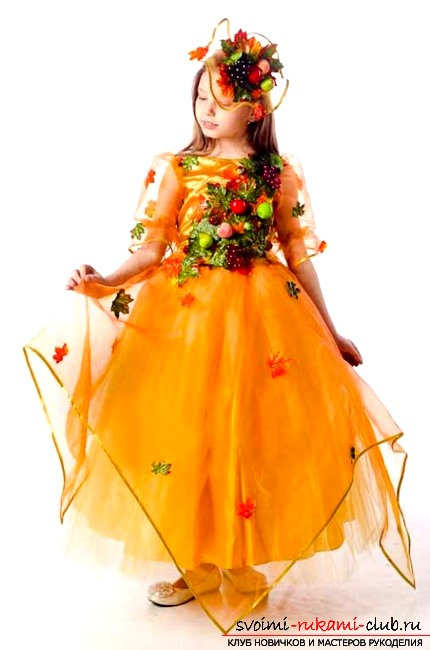 Платья для осеннего бала своими руками картинки