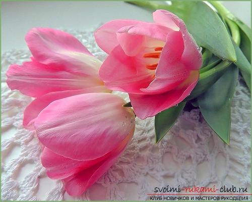 Гофрированные цветы интересные идеи для подарка. Фото №1