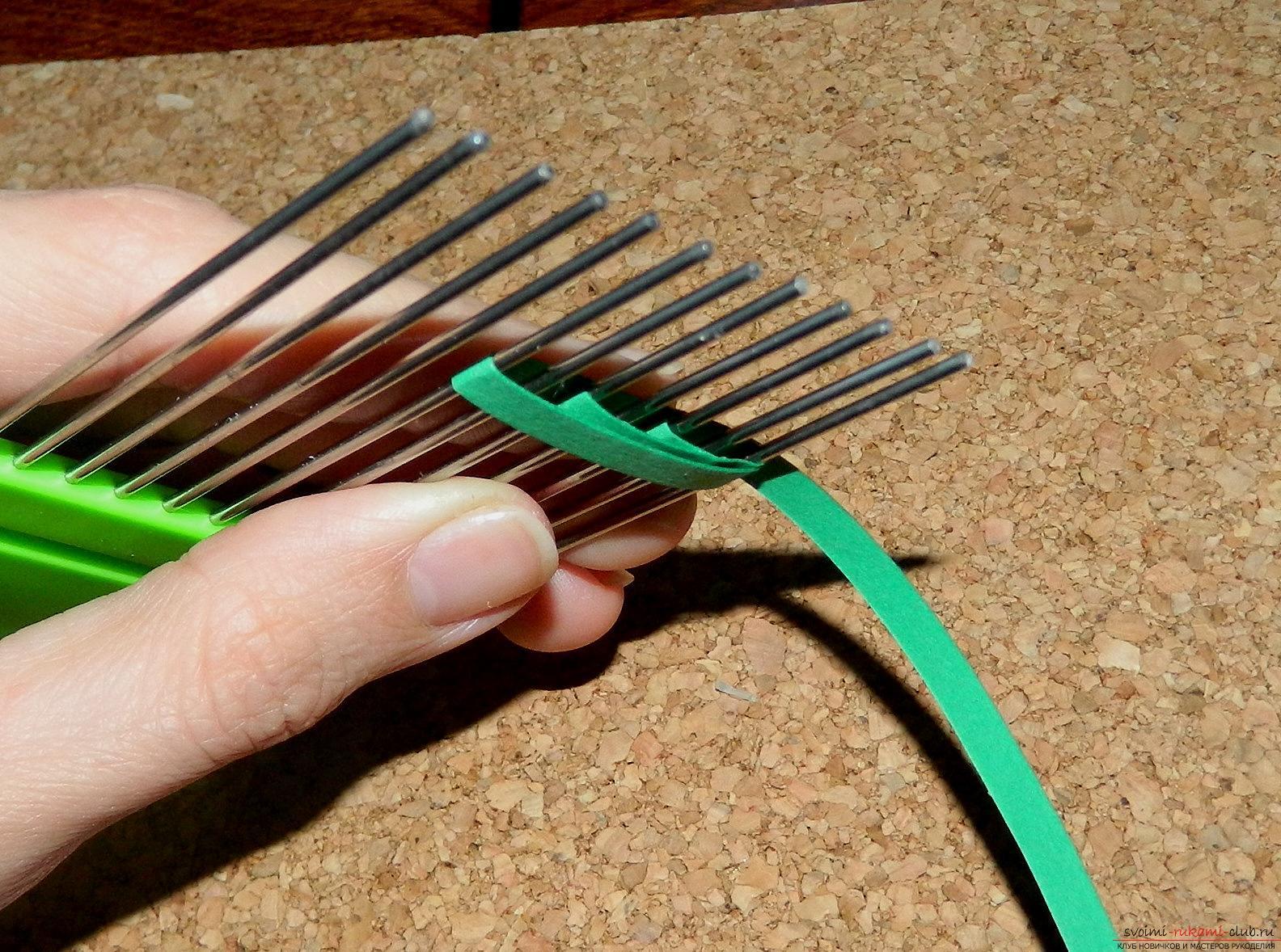 Этот мастер-класс расскажет как сделать открытку ручной работы в технике квиллинг.. Фото №31