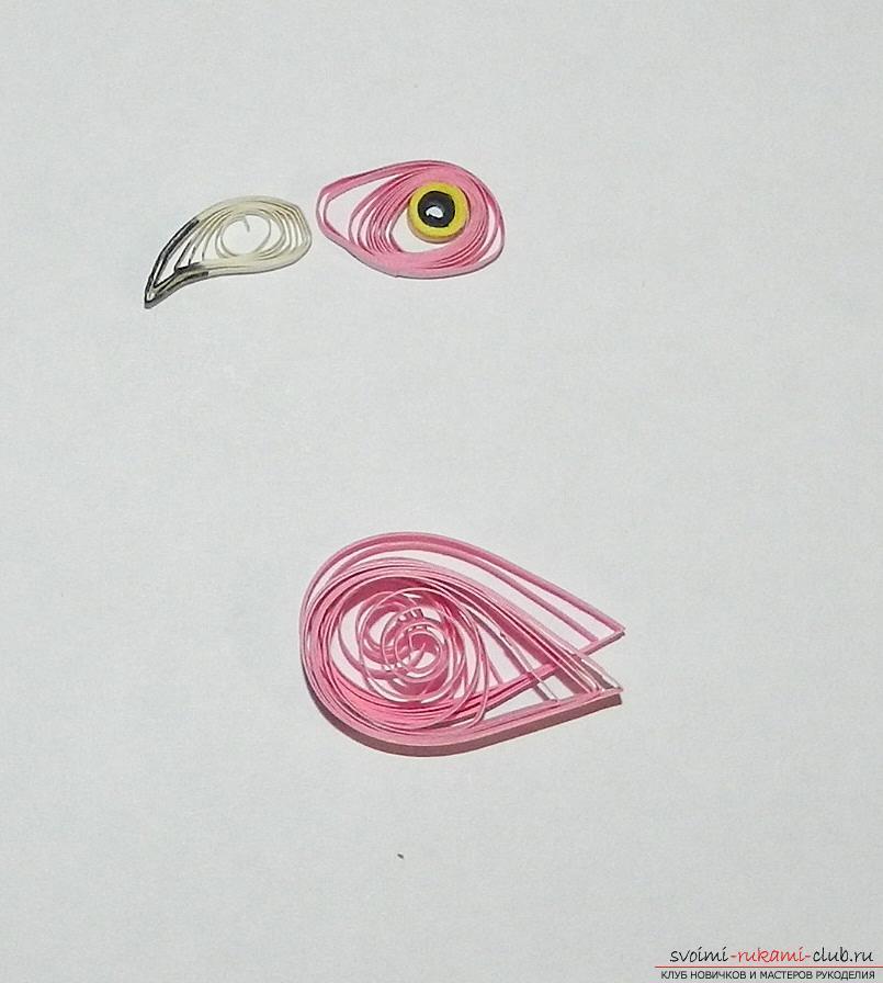 Как сделать розового фламинго своими руками