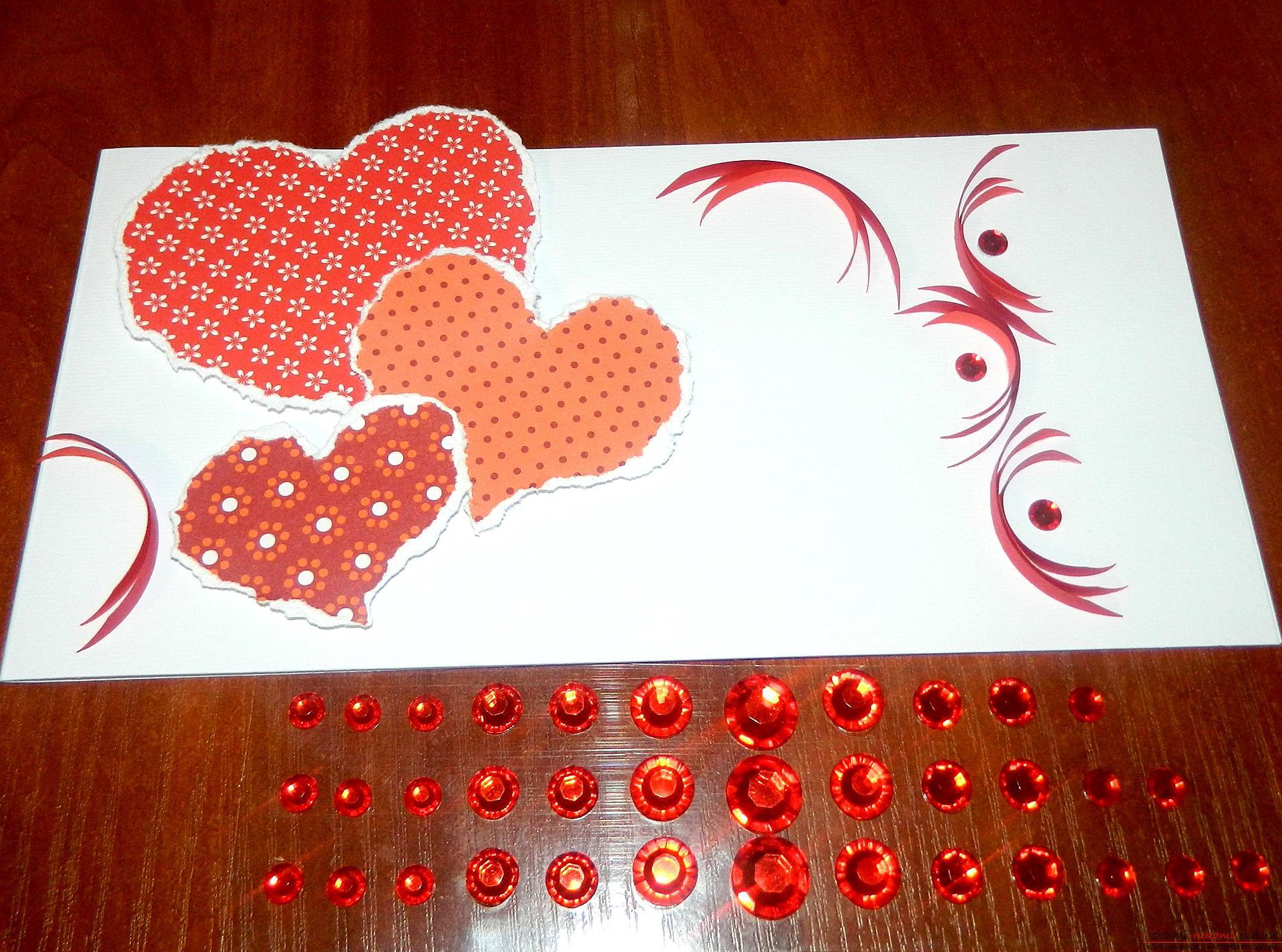 день валентина открытки своими руками что