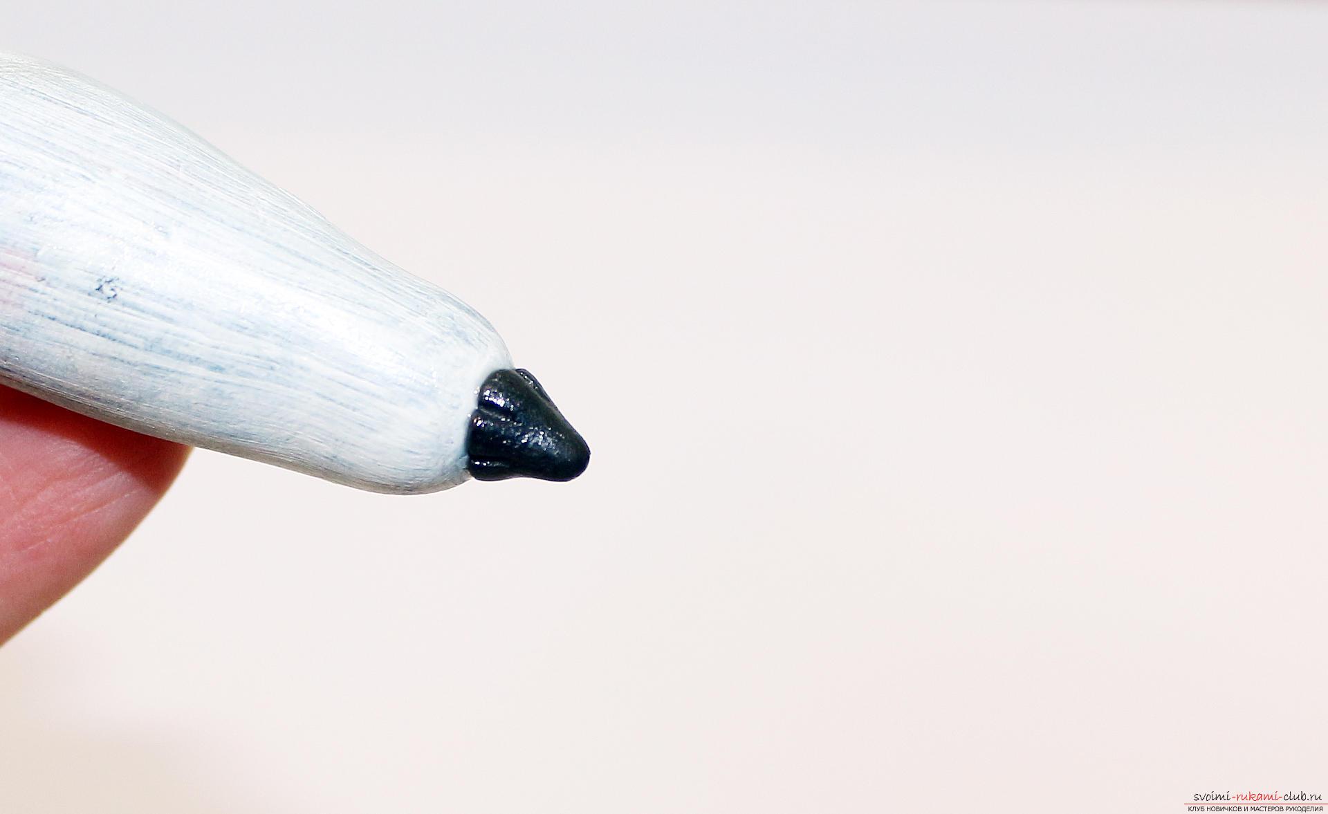 Этот подробный мастер-класс по лепке из полимерной глины расскажет как сделать своими руками фигурки из полимерной глины - овощи и фрукты для детей.. Фото №46