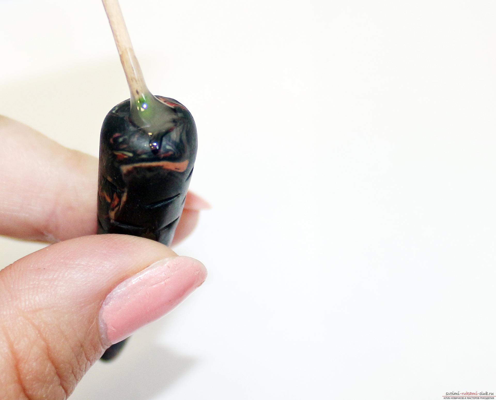 Этот подробный мастер-класс по лепке из полимерной глины расскажет как сделать своими руками фигурки из полимерной глины - овощи и фрукты для детей.. Фото №31
