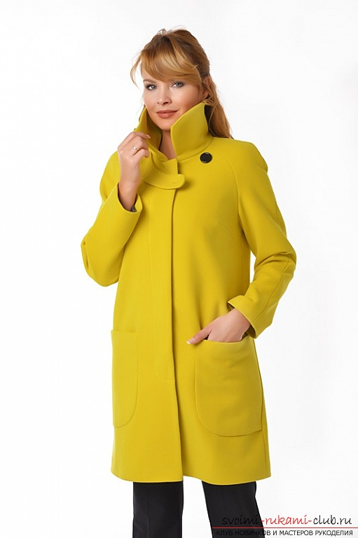 Как сшить пальто своими руками, выкройка (зимнее, осеннее) 41