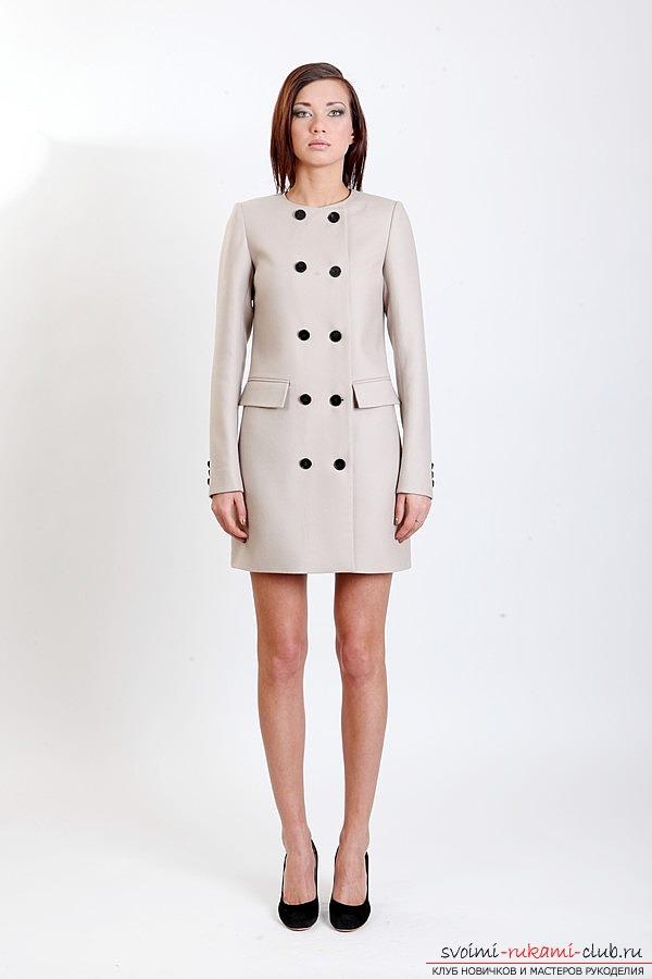 Как сшить женское прямое пальто по профессиональной выкройке своими руками