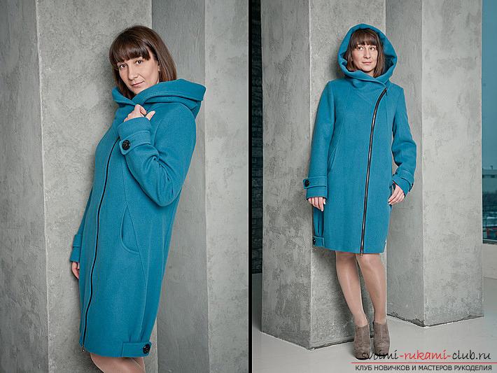 Вот наше пальто с капюшоном
